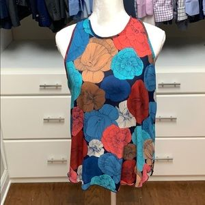 Beautiful floral sleeveless top